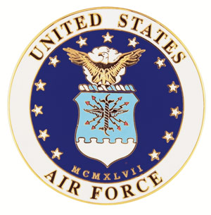 Air Force Color Medallion