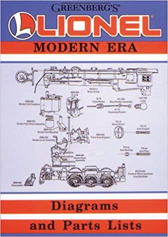 Lionel Modern Era Diagrams and Parts Lists image