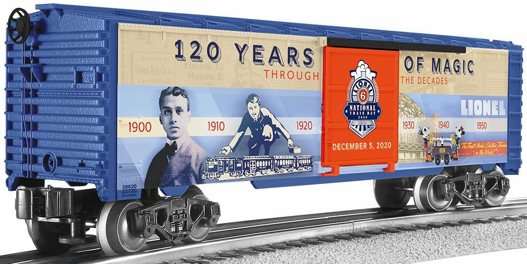 2020 NLTD (National Lionel Train Day) Boxcar image