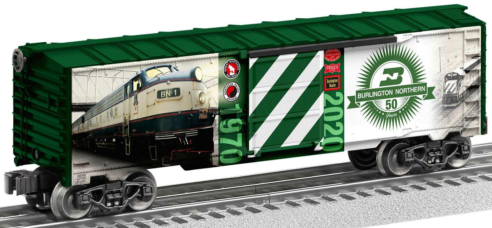 Burlington Northern 50th Anniversary Boxcar image