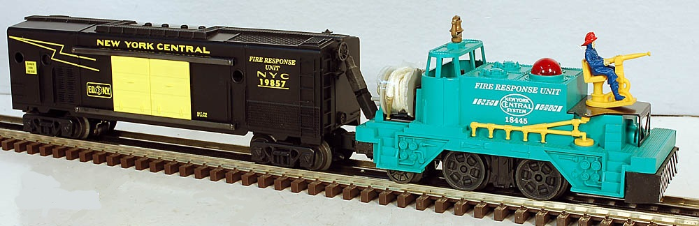 New York Central Firecar and Instruction Car Set image