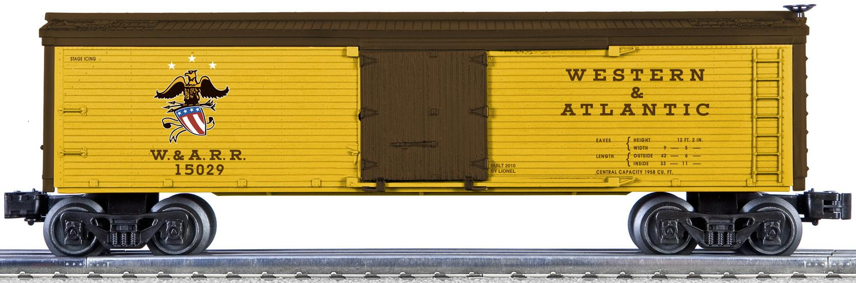 Western & Atlantic Wood-Sided Reefer image