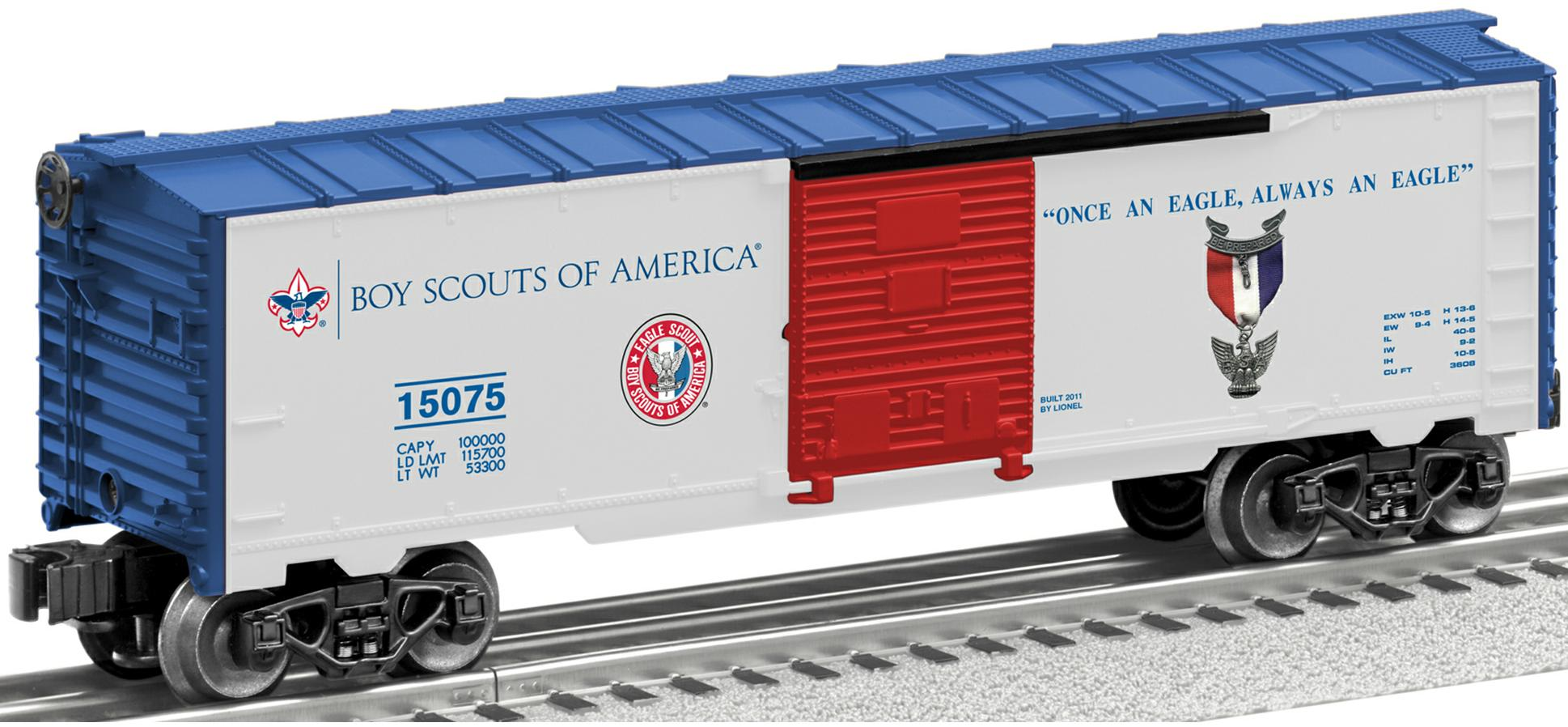 Boy Scouts of America® 'Eagle Scout' Boxcar image