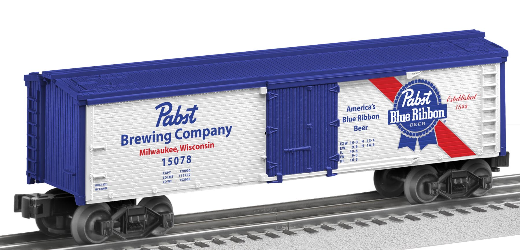 Pabst Wood-Sided Reefer image