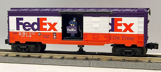 Fedex Animated Boxcar image