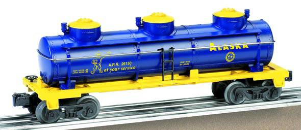 Alaska Three-Dome Tank Car image