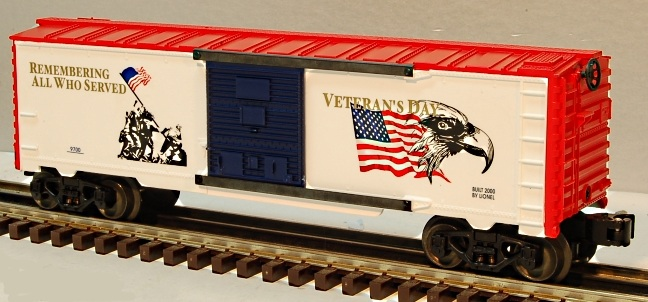 Veterans Day Boxcar image