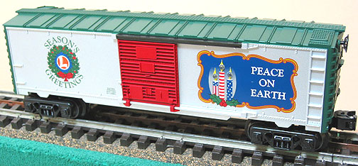 Christmas Lighted Boxcar image