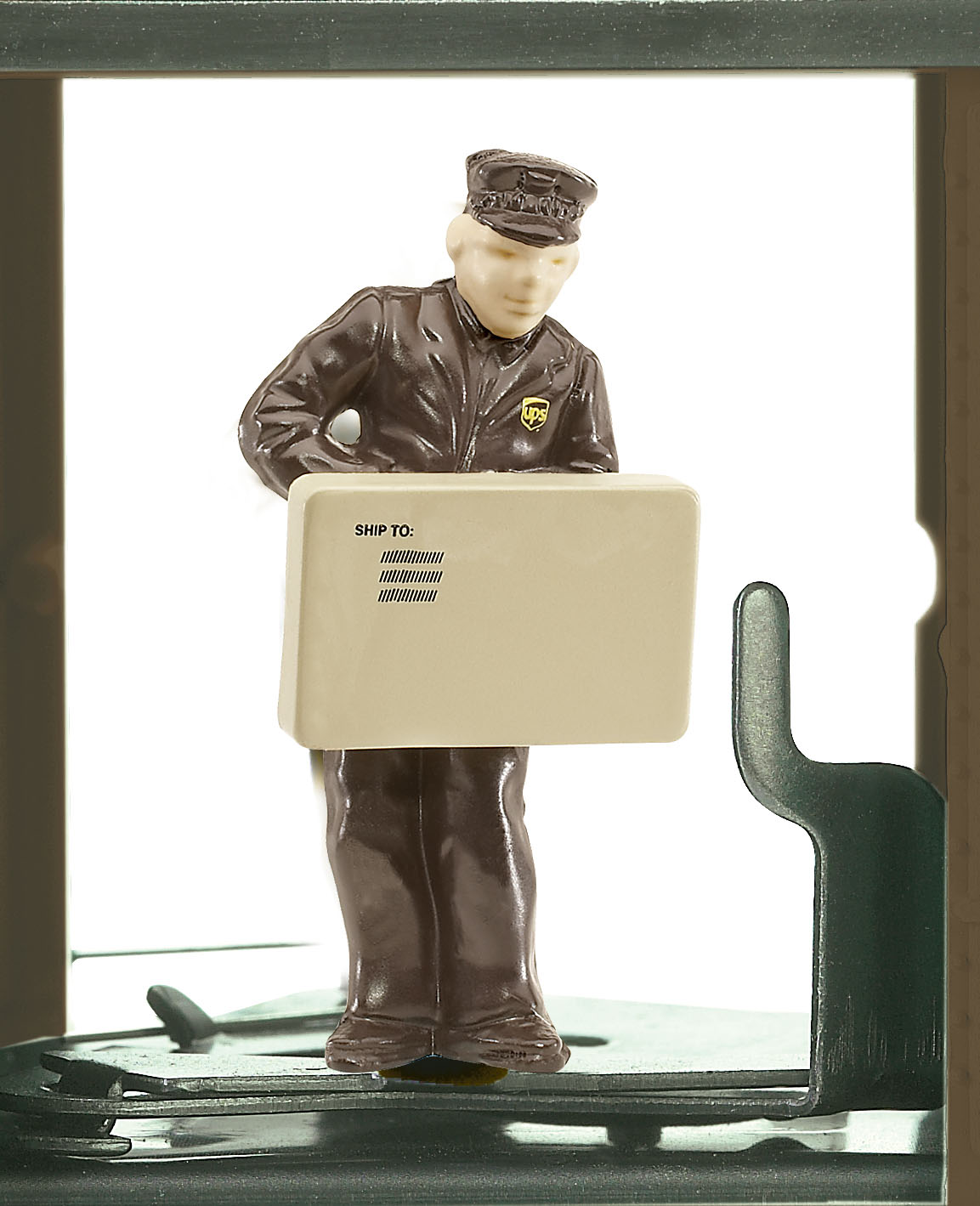 UPS® Holiday Operating Boxcar image