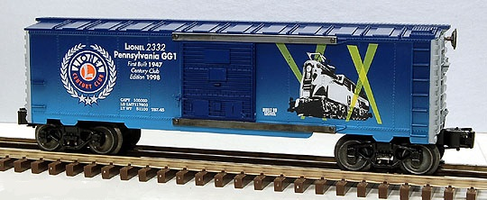 Lionel Century Club Box Car – Pennsylvania GG-1 image