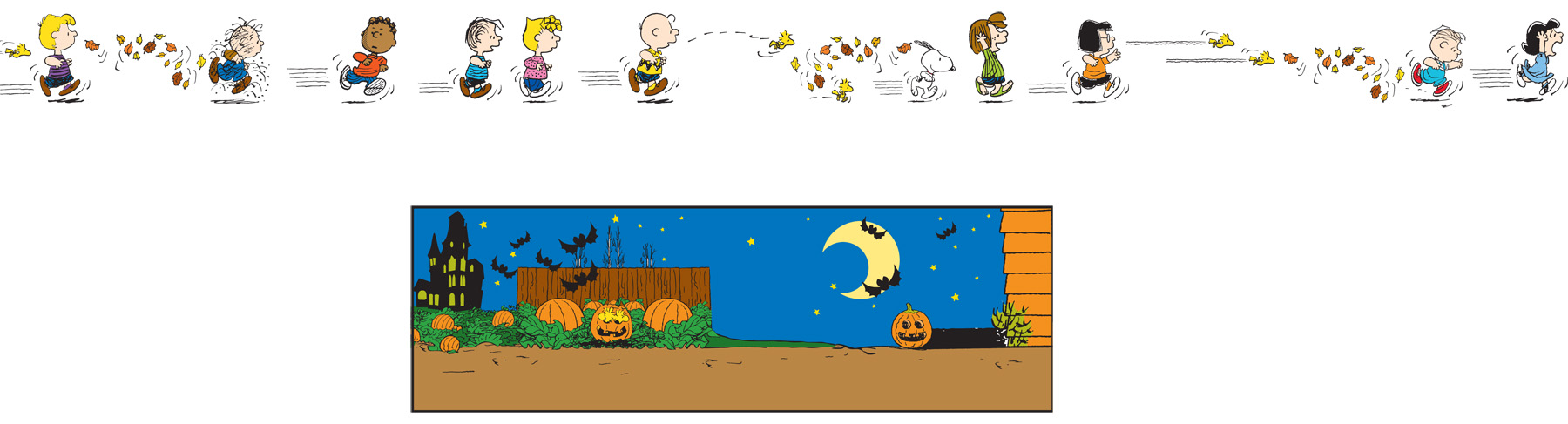 Peanuts Halloween Aquarium Car image