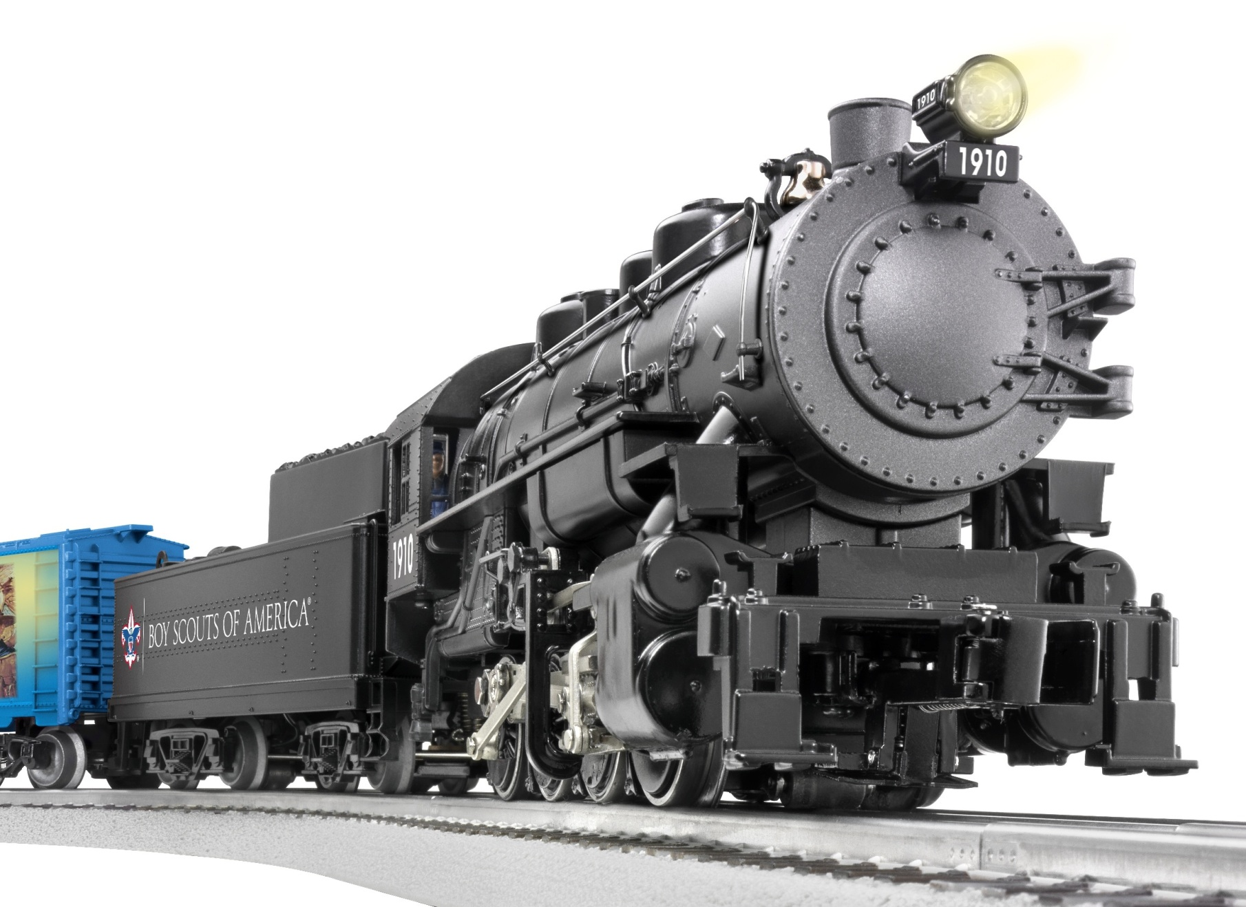 Boy Scouts of America® 0-8-0 Freight Set (0-8-0 Steam Loco) image