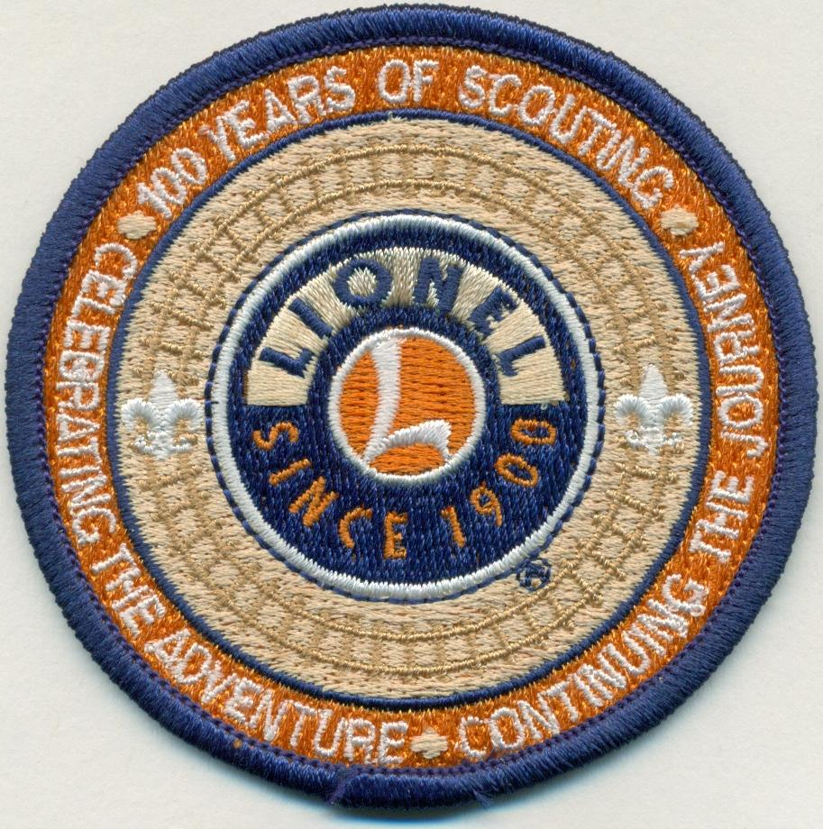 Lionel BSA® 100th Anniversary patch image