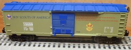 Scout Oath boxcar image