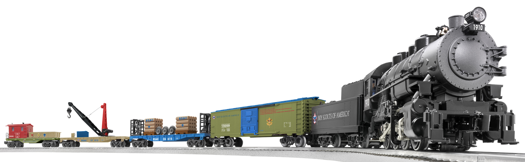Boy Scouts of America® 0-8-0 Freight Set (Loco) image