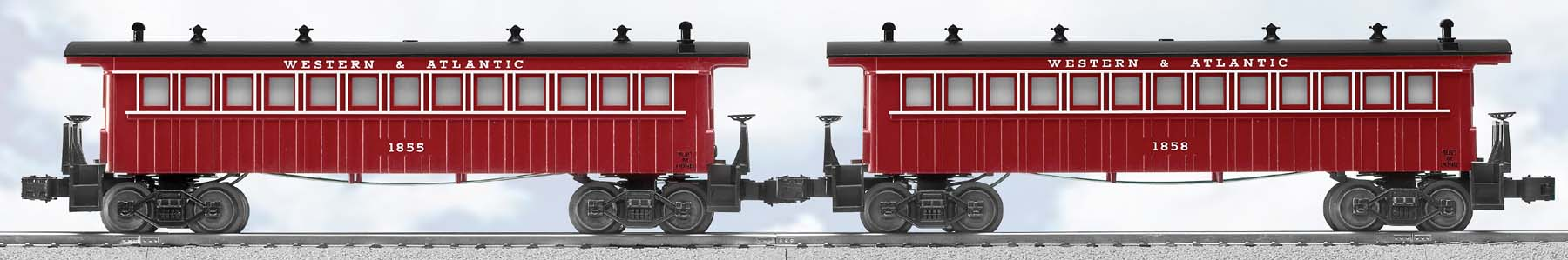Western & Atlantic Passenger Car (2-Pack) image