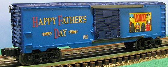 Father's Day Boxcar image