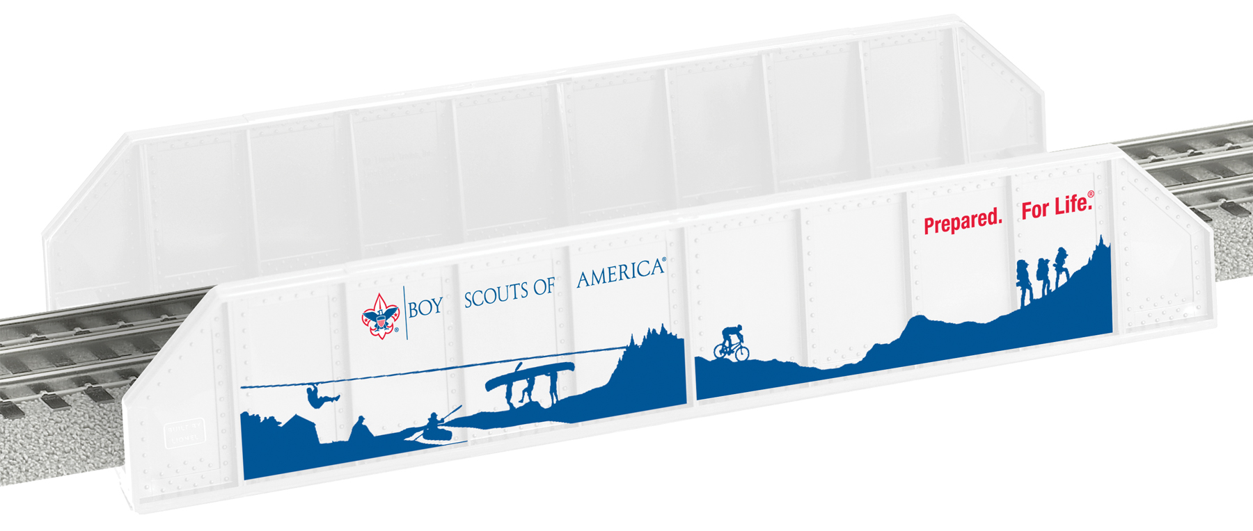 Boy Scouts of America® Girder Bridge image