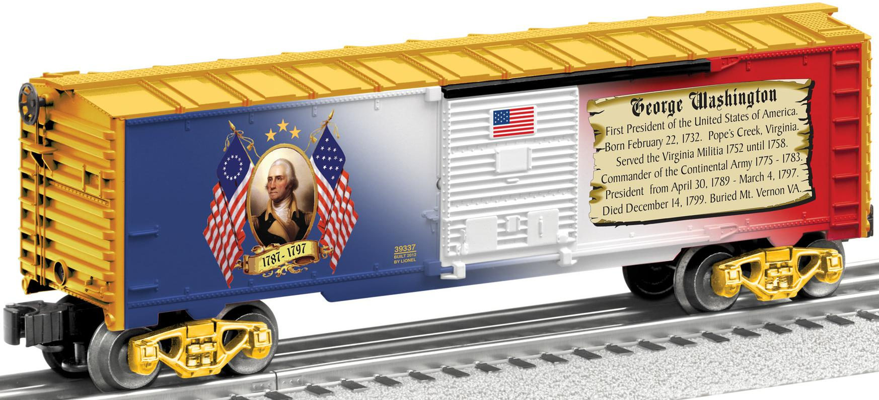 Abraham Lincoln Boxcar image