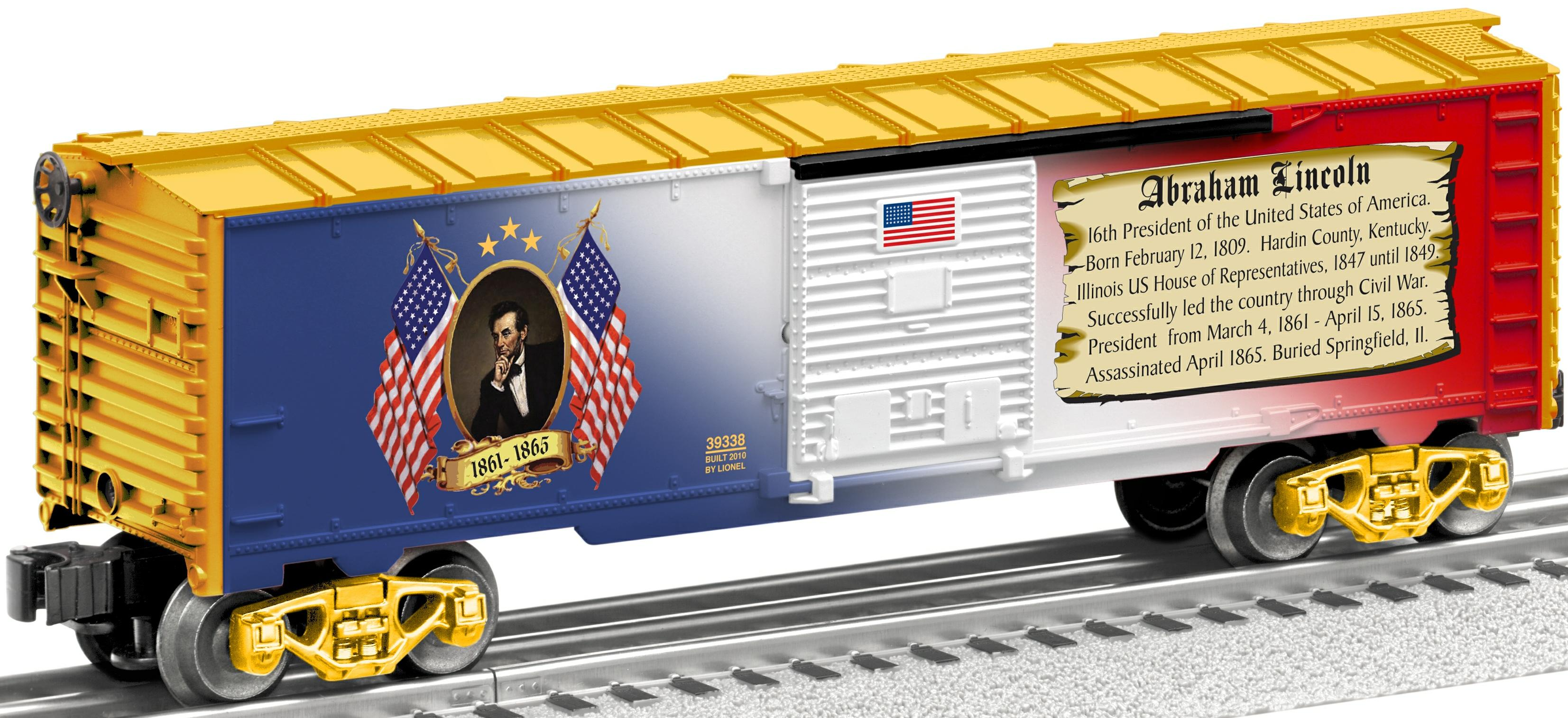 George Washington Boxcar image