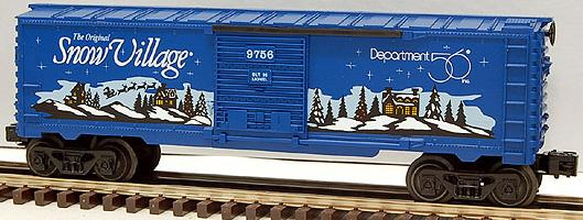 Department 56 Snow Village Boxcar image