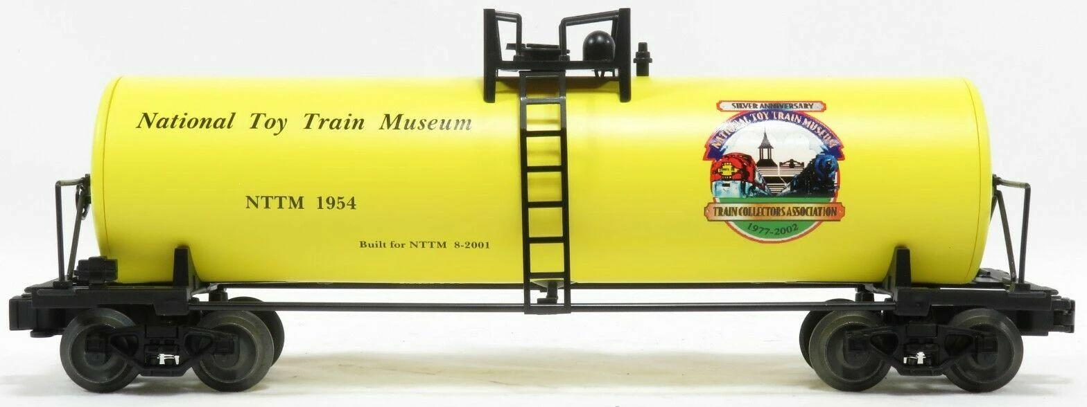National Toy Train Museum Work Train Tank Car image