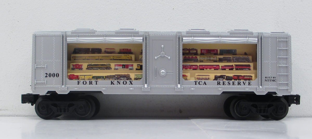 National Toy Train Museum Bullion Car image