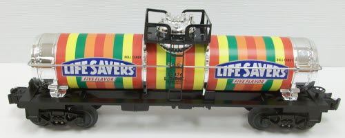 Lifesavers Five Flavor Single Dome Tank Car image