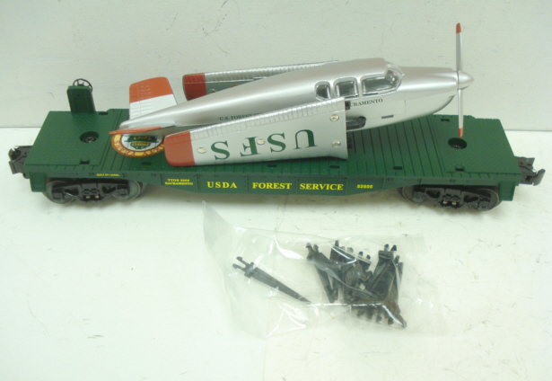 TTOS Smokey Bear Flatcar w/Beechcraft Airplane image