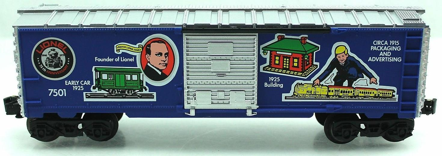 "Lionel 75th Anniversary ""Founders"" Boxcar (Lionel 75th Anniversary 1585 Set) image"