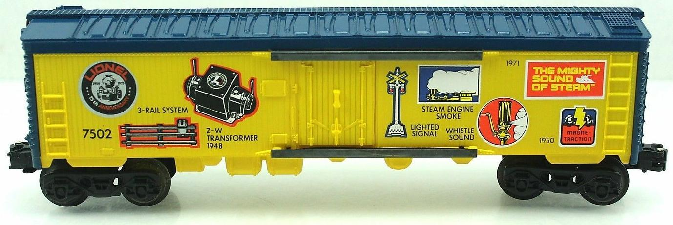 "Lionel 75th Anniversary ""Innovations"" Reefer (Lionel 75th Anniversary 1585 Set) image"