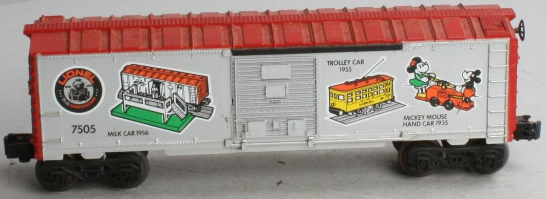 "Lionel 75th Anniversary ""On-Track Accessories"" Boxcar (Lionel 75th Anniversary 1585 Set) image"
