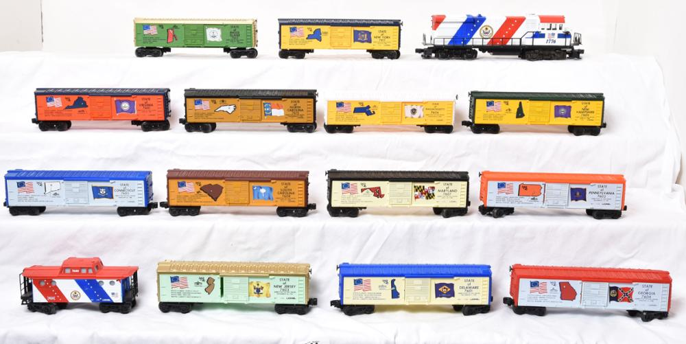 """Spirit of 76"" Cars (1776 Set) image"