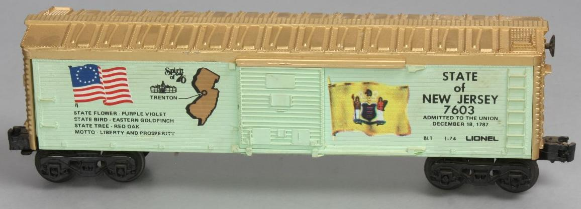 Spirit of '76 State of New Jersey Boxcar (1776 Set) image