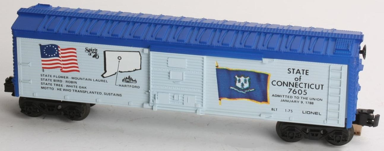 Spirit of '76 State of Connecticut Boxcar (1776 Set) image