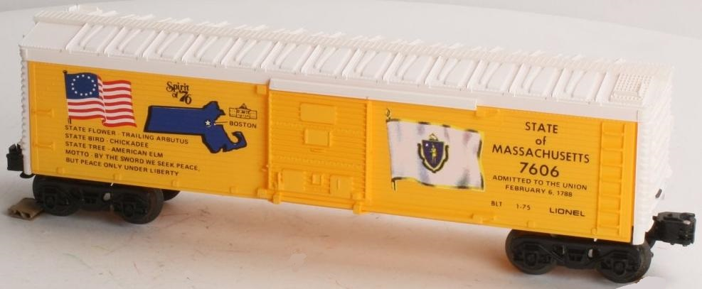 Spirit of '76 State of Massachussets Boxcar (1776 Set) image