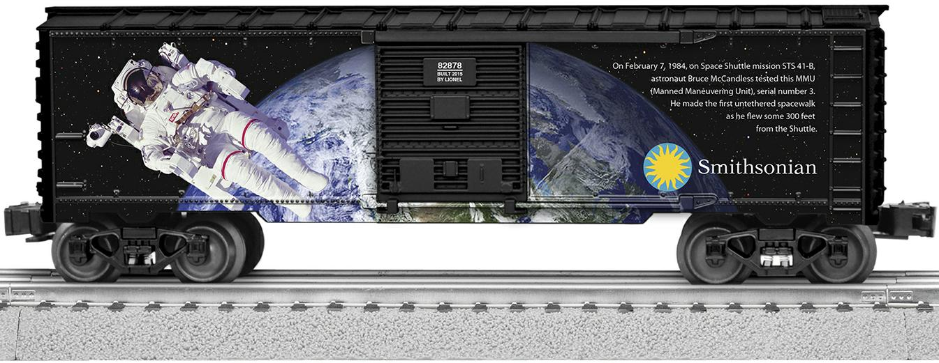 Smithsonian Space Boxcar image