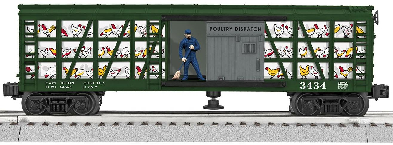 Poultry Dispatch Sweep Car image