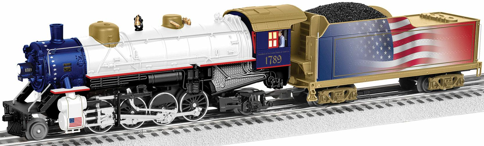 LionChief™ Plus Mikado Presidents Steam Locomotive image
