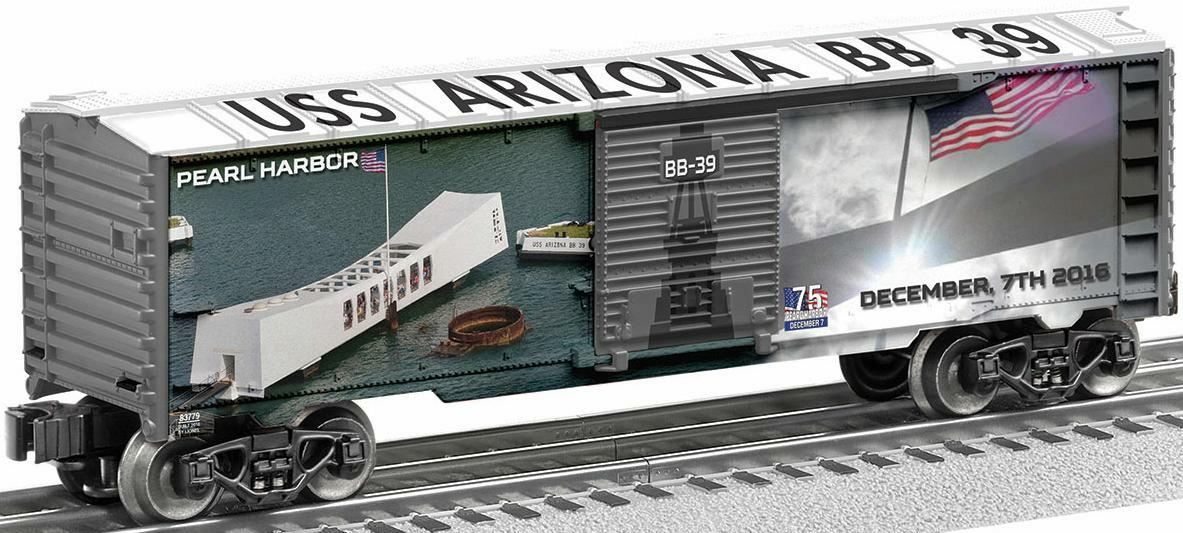 75th Anniversary Pearl Harbor Boxcar (front) image