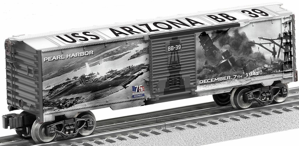 75th Anniversary Pearl Harbor Boxcar (back) image