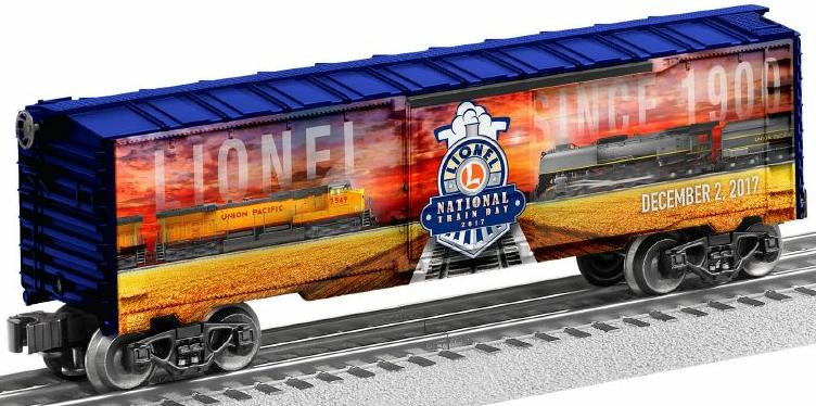 2017 NLTD (National Lionel Train Day) Boxcar image