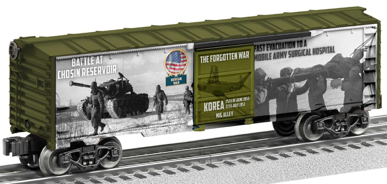 Korean War Boxcar image