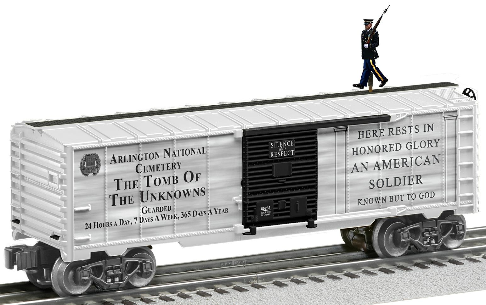Tomb of the Unknown Soldier Walking Brakeman Boxcar image