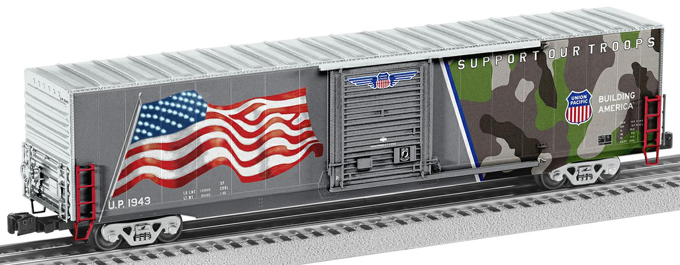 Spirit of the Union Pacific (Illuminated Stars) Boxcar 1943 image