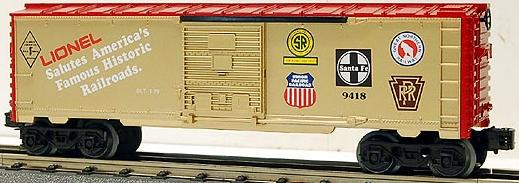 Famous American Railroad (FARR) Series Commemorative Box Car image