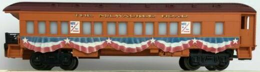 F.D. Roosevelt Presidential Campaign Car Milwaukee Road image