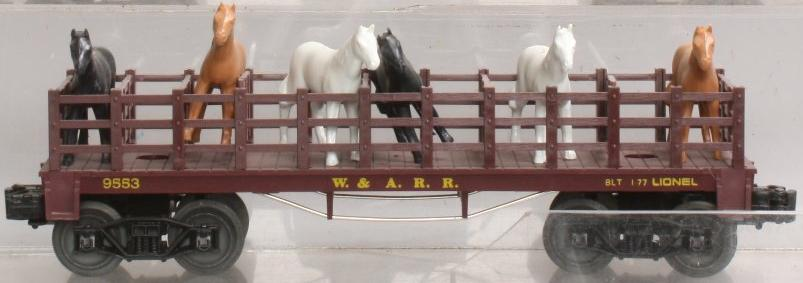 Western & Atlantic Flatcar with Horses image
