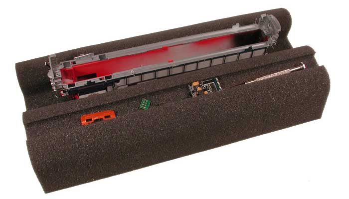 Foam Work Cradle (O-gauge) image