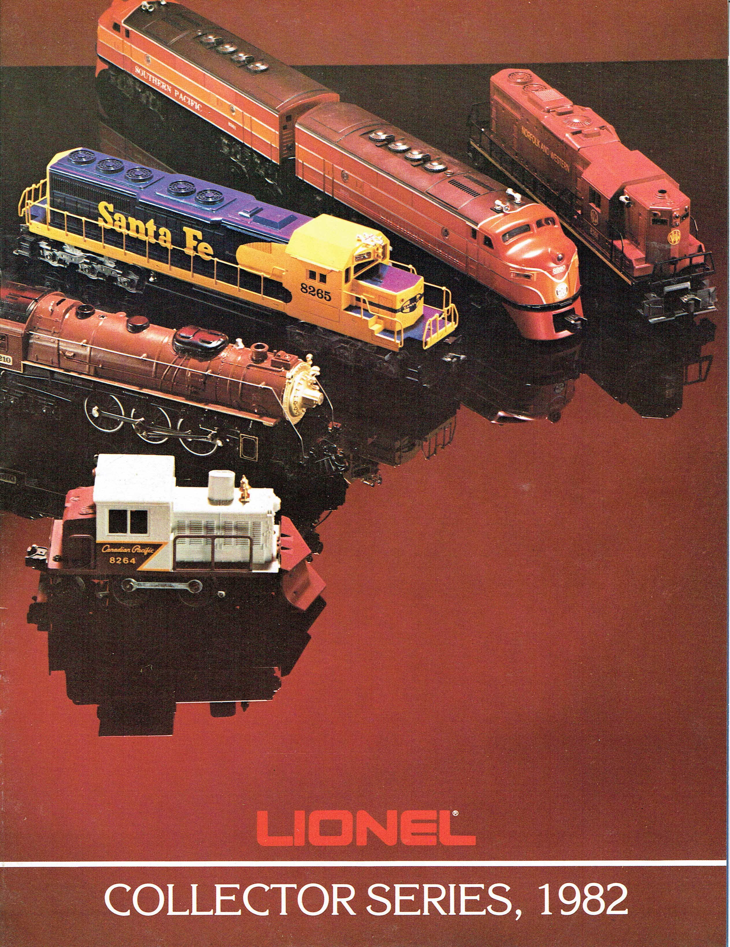 Lionel 1982 Collector Series Catalog image